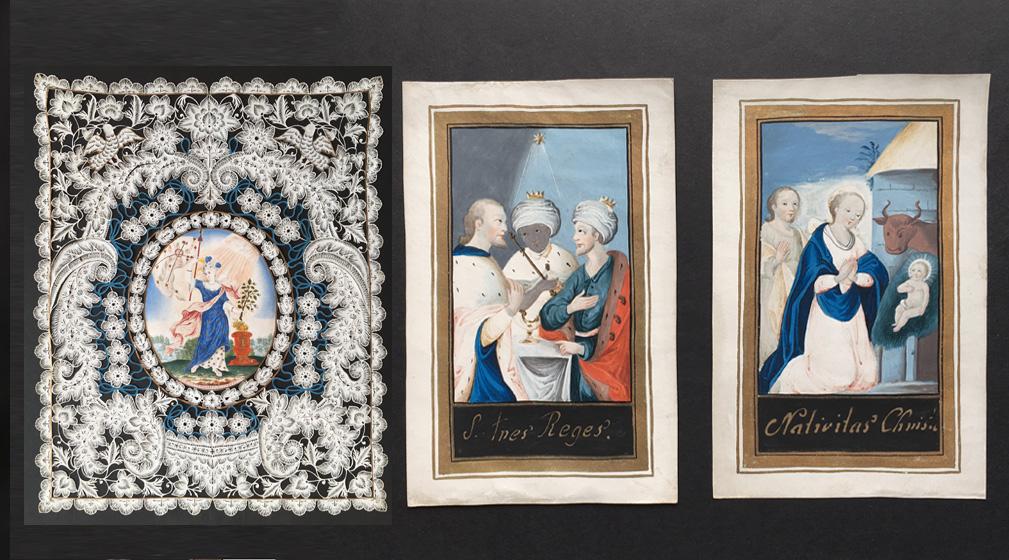 Images de dévotion et de protection – vente en préparation