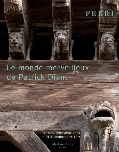 Catalogue Le monde merveilleux de Patrick Diant