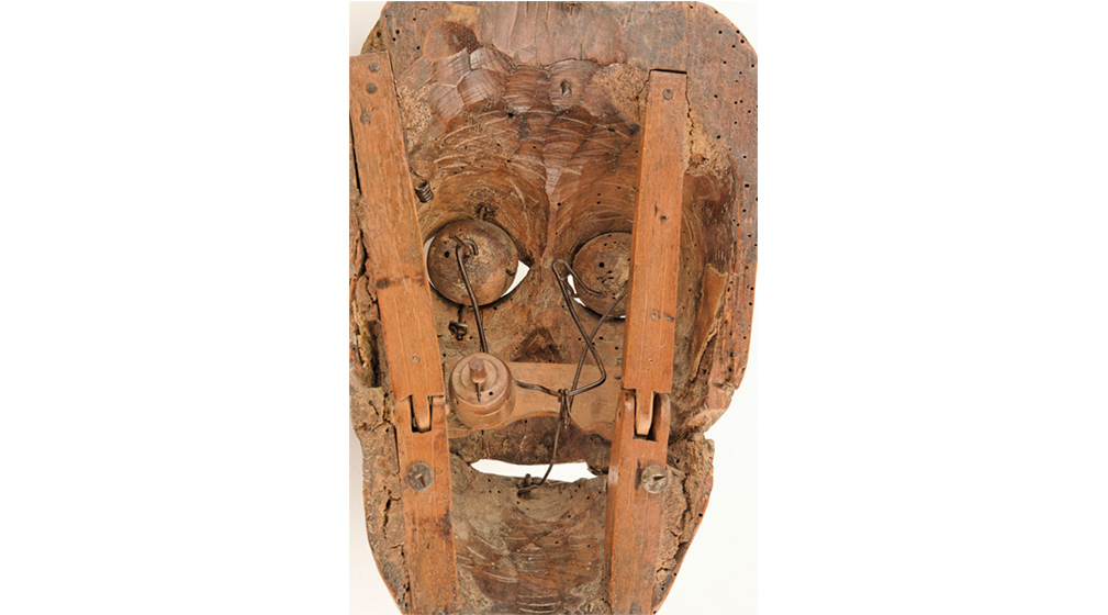 Masque d'orgue dit Papotier