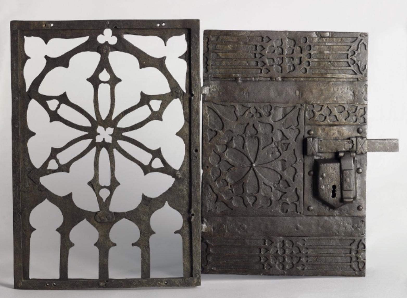 Grille de tabernacle du XVe siècle