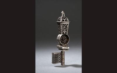 Clef de maîtrise à lanterne du XVIIIe siècle
