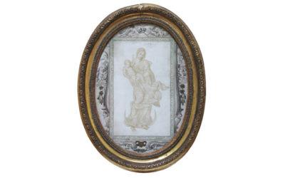 Micrographie religieuse de 1702