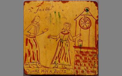 Poterie d'Englefontaine au carré magique XVIIIe
