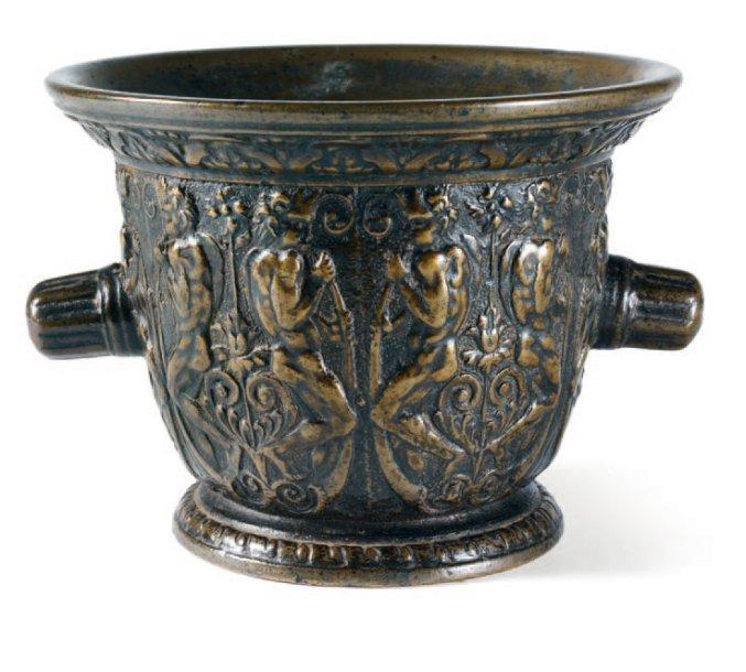 Mortier d'Abraham Le Boucher Rouen XVIIe
