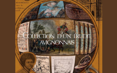 Collection d'un érudit avignonnais