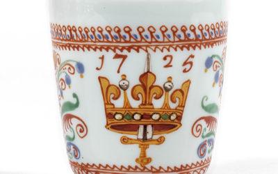 Gobelet d'Orléans en verre XVIIIe