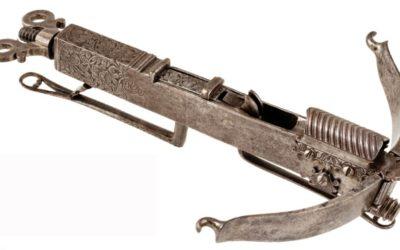 Rare arbalète miniature XVIIe