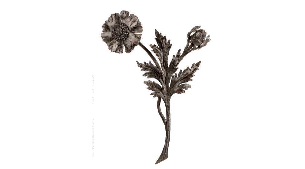 Bouquet d'anémones par Ferdinand Marrou